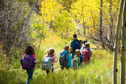 3rd Grade Geology Field Study Program at Walking Mountains