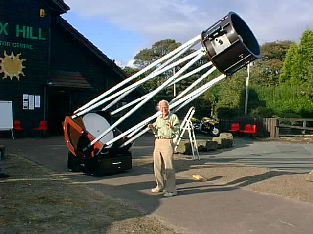 How to Build a Powerful Telescope with Simple Parts