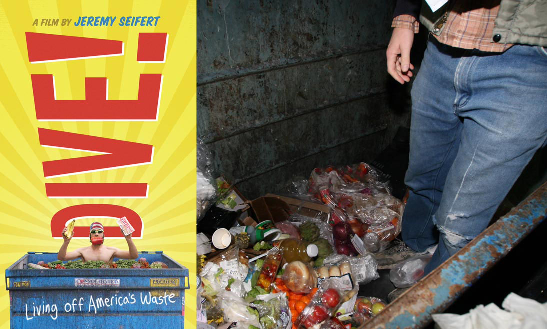 Dive living off america s waste film debuts in the for American cuisine film