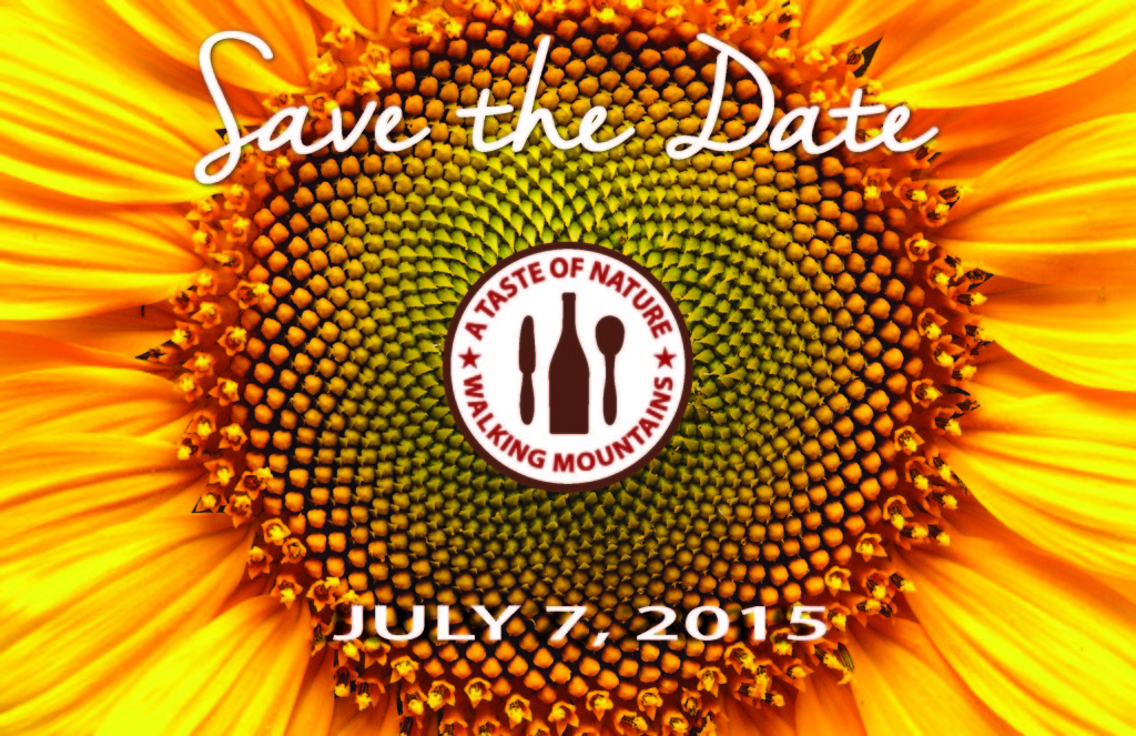 2015 Taste of Nature Save The Date