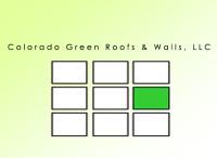 Colorado Green Roofs & Walls
