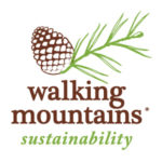 Walking Mountains Sustainability Logo Stacked