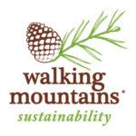 Walking Mountains Sustainability Logo Stacked